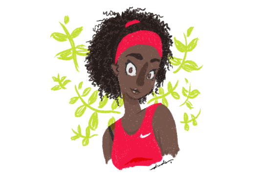 Uma tarde com Serena Williams